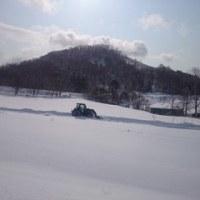 ひさびさの除雪
