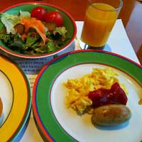 今日はホテルの朝食です(ソウル)