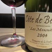 2004 コート・ド・ボーヌ ヴィラージュ レ・モンスニエール ドメーヌ・ド・ラ・コンブ