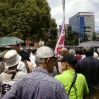 安保法案の撤回を求め県民集会
