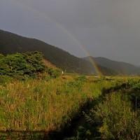 虹がよく出る季節