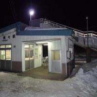 冬の夜の美々駅は美しかった!
