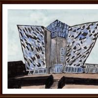 愛蘭土旅行シリーズ その9 タイタニック・ベルファーストの建物