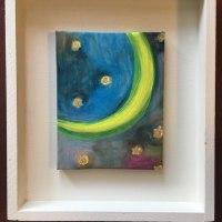 作品「リリィ」と「月と星」