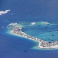 米海軍が南シナ海で「航行の自由」作戦 トランプ政権発足後初