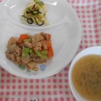 炒り鶏を食べるわン