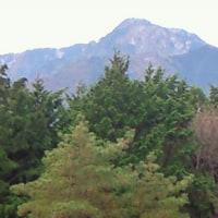自分の足で登る山が、、