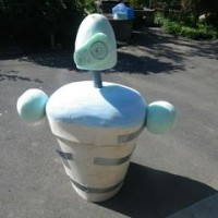 ロボット兵 腕を仮付け