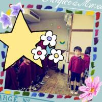 卒園式〜(^ω^)