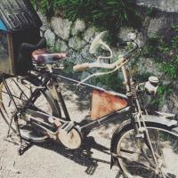 実用自転車は便利