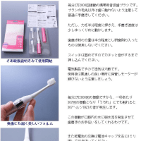 音波振動歯ブラシ 使用法