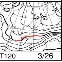 恒例!今週末,3月25,26日の志賀高原スキー場の天気は?…予想は難しいけど,冷え冷え,曇りがち