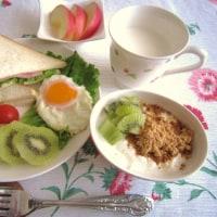 主人に 会いに 出かける日 ☆ 朝食♪