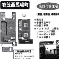京都市 北野白梅町周辺 店舗付住宅売り情報