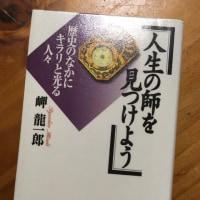 人生の師を見つけよう 「歴史のなかにキラリと光る人々」 岬 龍一郎 著 2008年
