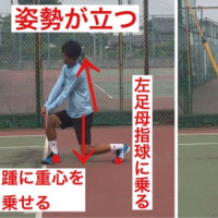 両手バックハンドストローク  低い打点の脚の使い方  〜才能がない人でも上達できるテニスブログ〜