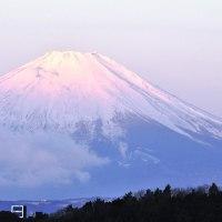 今朝の紅富士 2017.2.19.(日)