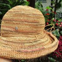 ヘレン・カミンスキーの帽子をリメイク