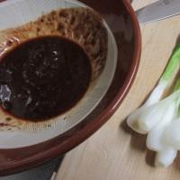 わけぎの酢味噌和え、農家のレシピ。