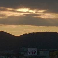 和歌山市にて、夜明け