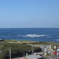 鮮やかなブルー 「角島の海」 161202