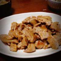 生姜焼き。