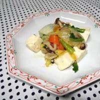 ★冷蔵庫の残り野菜と豚肉、豆腐の旨煮★
