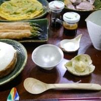 アボカドの卵焼き