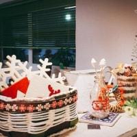 ショールームはクリスマスモードへ。