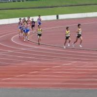 総体5000m予選&中長記録会