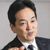 ◯ Isetan Mitsukoshi  HD President..  / 三越伊勢丹HD社長: 海外での新規出店凍結
