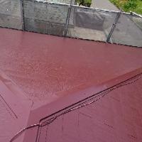 屋根塗装工事上塗り完了!