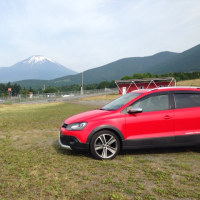 24日朝、富士にて