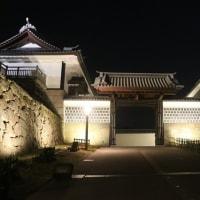 金沢城跡公園のライトアップ ④