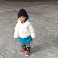 今日ら寒い!