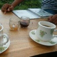 バリジャコウネコのコーヒー