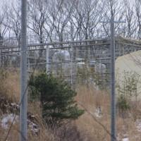 鮫川村焼却炉解体工事の様子(3月16日)