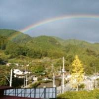 ワー虹だぁ