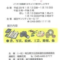 第41回埼玉県文化振興の集い(美術部会)