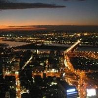 台北の夜景を撮影