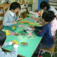 折り紙を習いました!