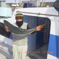 午前便ヒラメ釣りです。