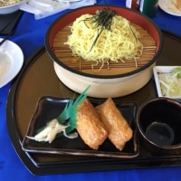 一関カントリー 昼食 中華ザル