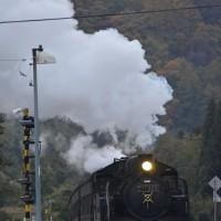 チョット前の撮影から、11月9日撮影 飯山線 SL試運転より その7 上境駅にて