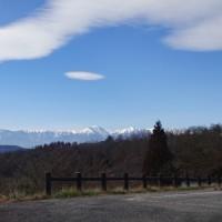 四賀運動広場の辺りから常念山脈を見る (小ネタ)