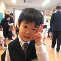 幼稚園の入園式!!