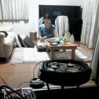 焼き肉をしました。