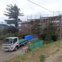 スキップフロア、3世代同居、耐震等級3、上棟です。