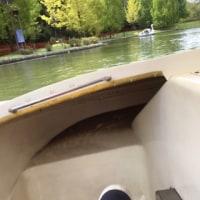 足こぎボートで筋肉痛
