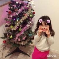 クリスマスツリー☆お孫ちゃん。
